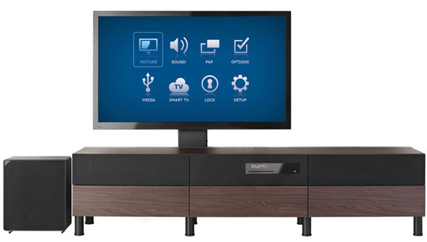 IKEA Uppleva, l'arredamento con Smart TV, Blu-Ray e sistema audio ...