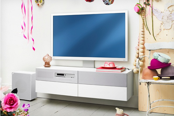 Ikea uppleva l 39 arredamento con smart tv blu ray e sistema audio integrati - Mobili per home theatre ...