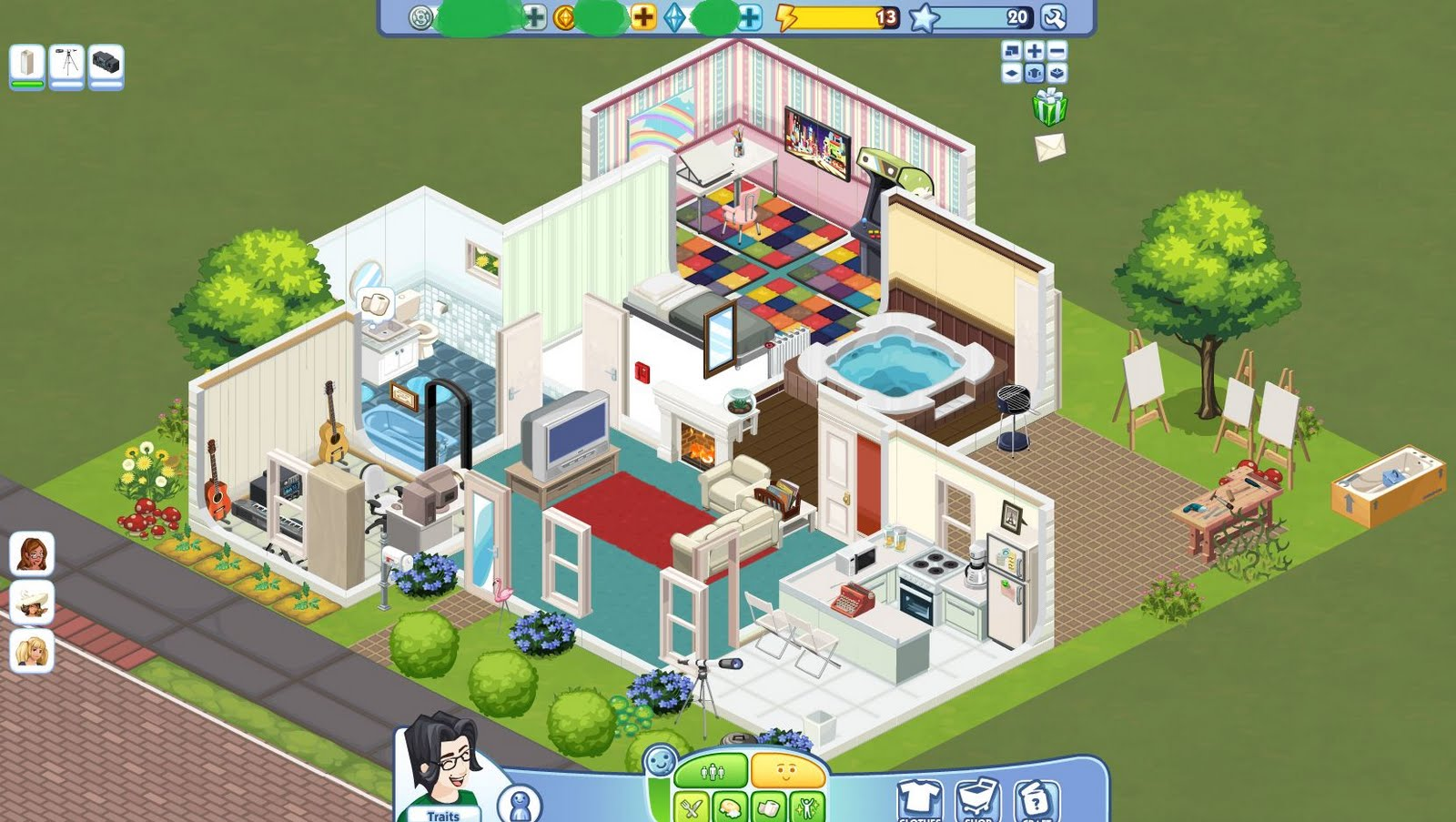House Design Games Like Sims The Sims Social Arriva Su Facebook Carminericco It
