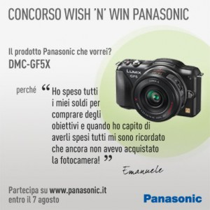 Panasonic Wish 'n' Win