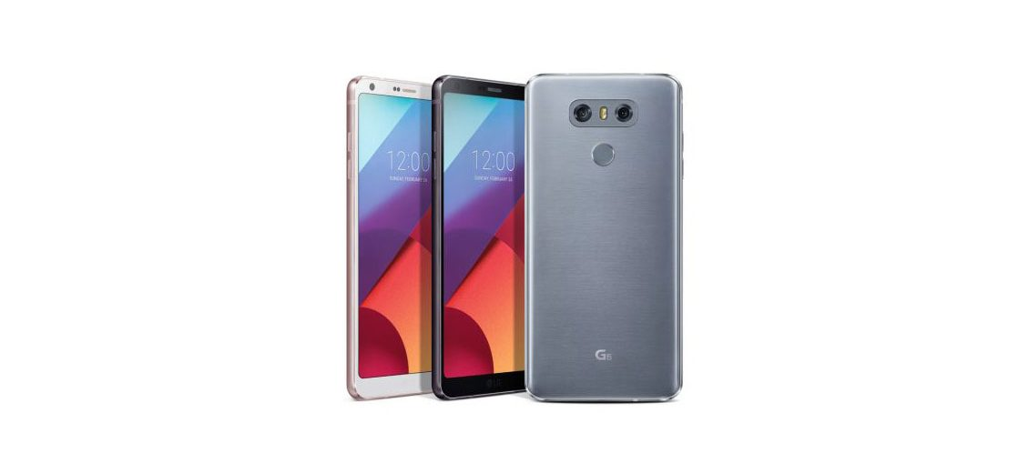 LG G6 con Android 7.0 Nougat